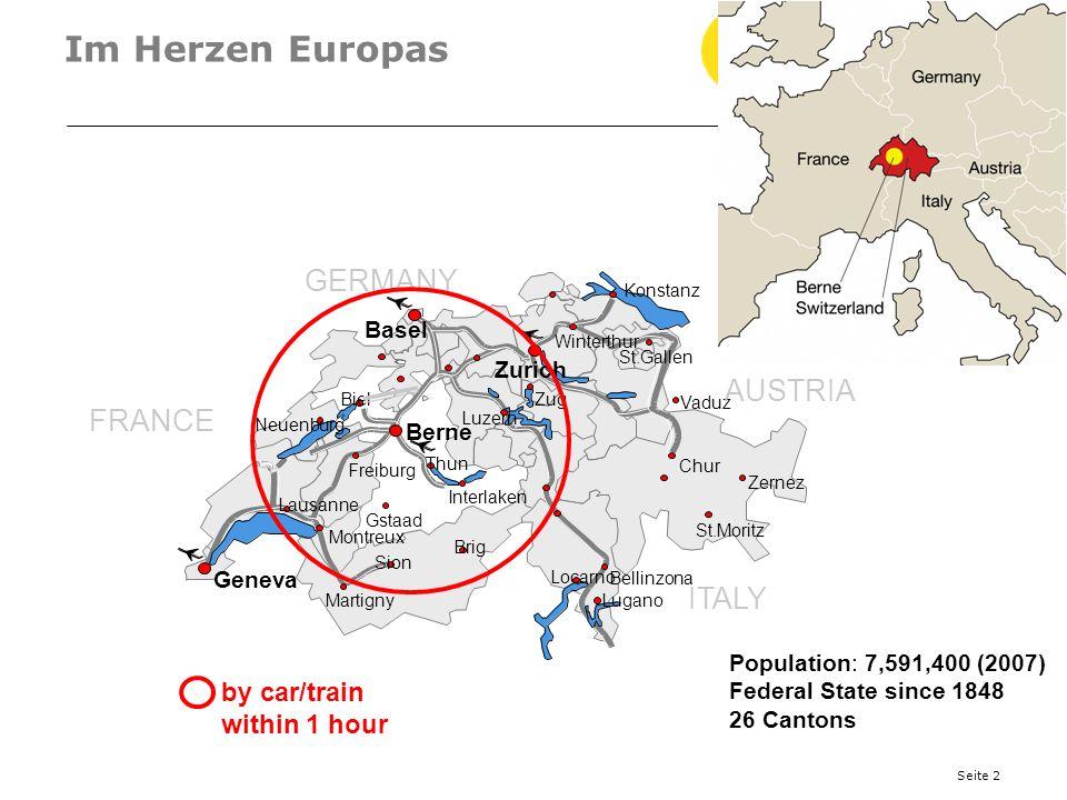 Seite 3 Clusters in Bern Medical Cluster (200) Präzisionscluster (85) Wirtschaftsberatungs-Cluster Bern-Espace Mittelland (580) tcbe.ch-ICT Cluster Bern, Switzerland (200) Aktive Cluster Politik seit 1997, erste Cluster-Organisation seit 1996, Grundlage Wirtschaftsförderungsgesetz