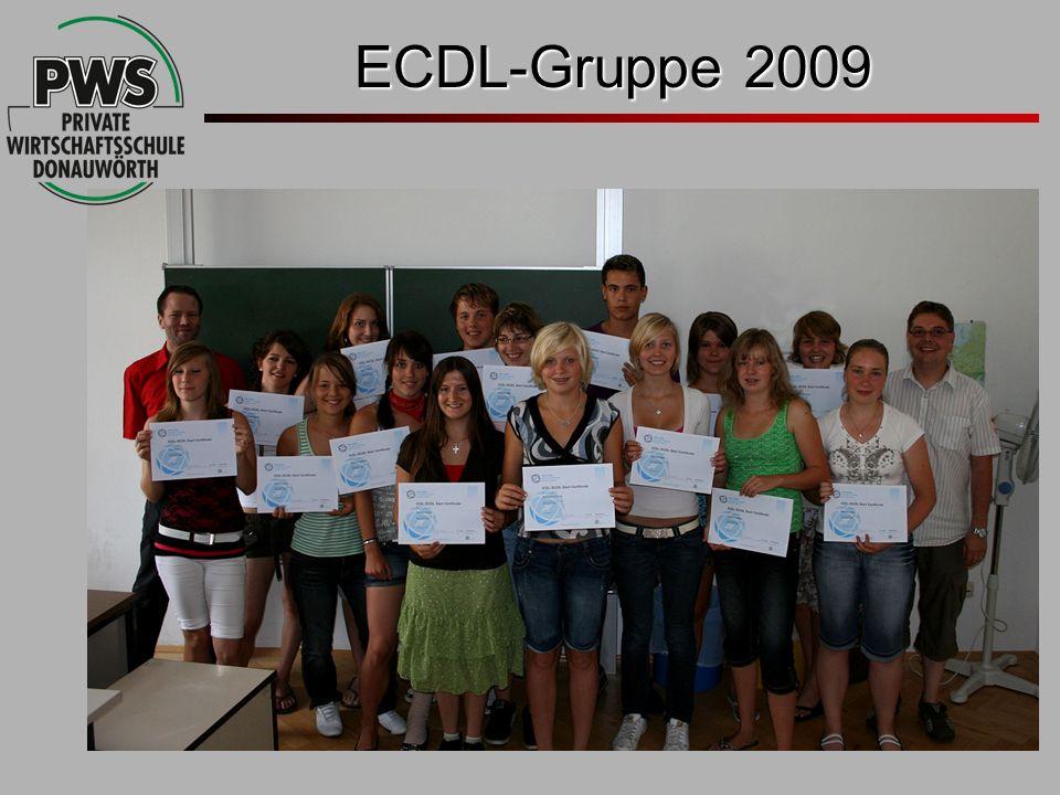 ECDL-Gruppe 2009