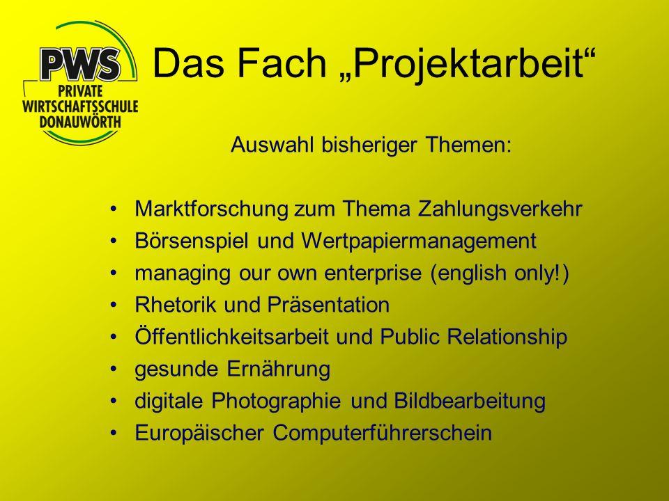 Präsentation des Projekts bei der Sparkasse Donauwörth