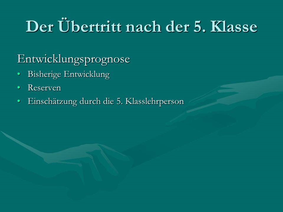 Sekundarschule Die Sekundarschule unterstützt…Die Sekundarschule unterstützt… die Persönlichkeitsbildung.