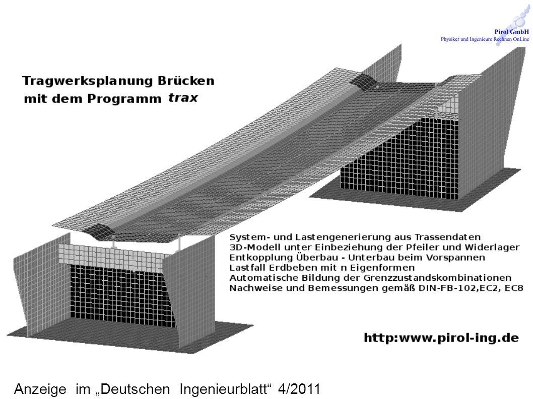 Anzeige im Deutschen Ingenieurblatt 4/2011