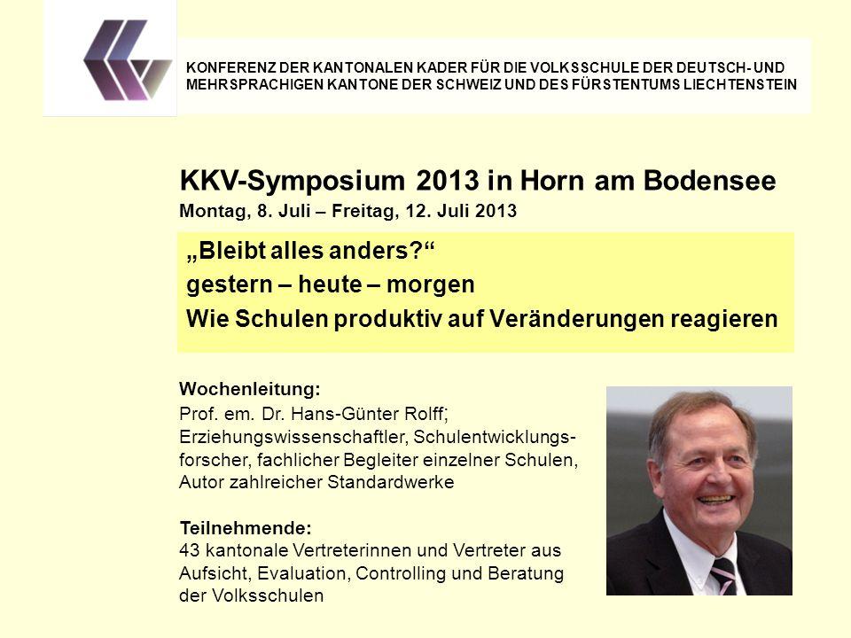 Hans-Günter Rolff: Scheitern: Wenn Schulen zu scheitern scheinen, handelt es sich dabei ev.