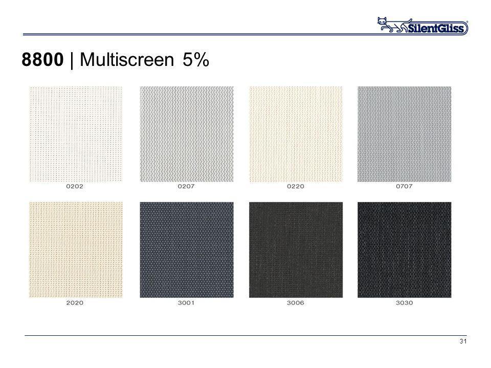 31 8800 | Multiscreen 5%