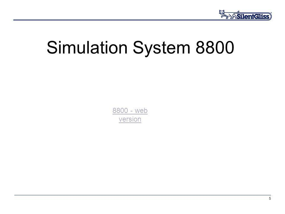 5 Simulation System 8800 8800 - web version