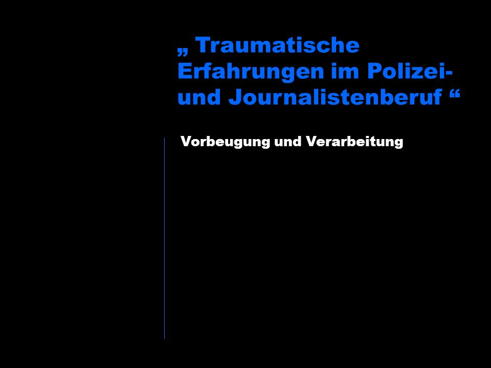www.kapo.lu.ch Ein Vorher Einführung Grundsätzliches Traumareaktionen 3-Schritte-Philosophie Vorbeugende Massnahmen Nachbereitung Konkrete Fragen Fazit Eine mentale Vorbereitung (Briefing).