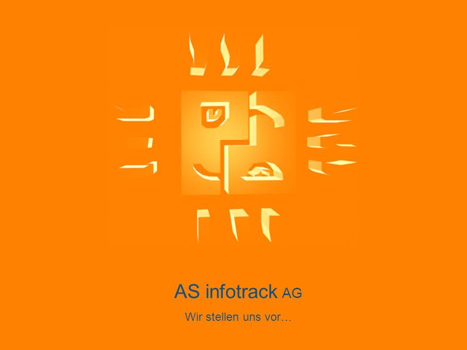 www.asinfotrack.ch AS infotrack AG – Ihr Informatikberater »seit 11 Jahren ein kompetenter und konstanter Partner »über 80 Kunden aus verschiedenen Branchen »langjährige und enge Kundenbeziehungen »motivierte und gut ausgebildete Mitarbeiter »Fokus auf individuelle Kundenbedürfnisse