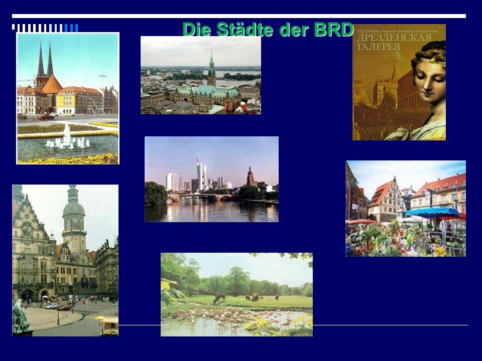Die Städte der BRD