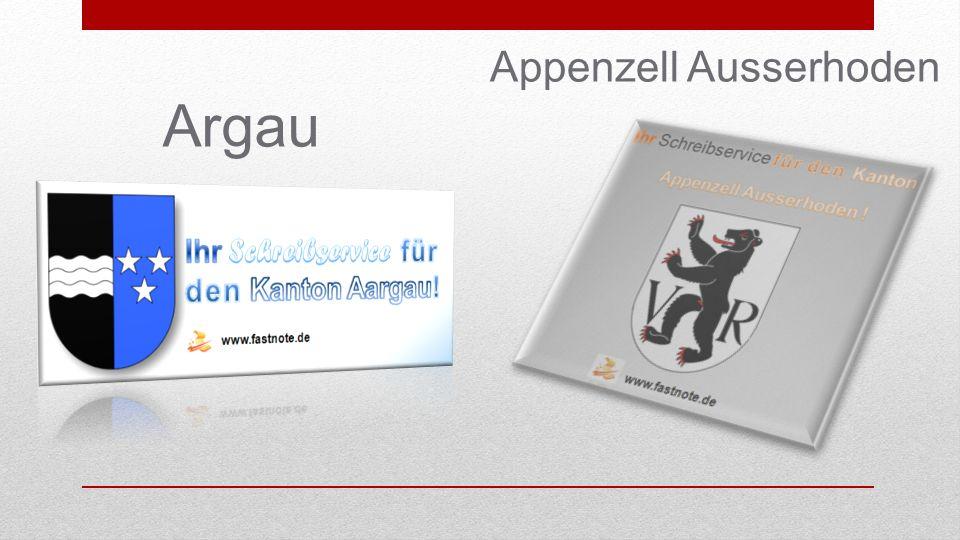Argau Appenzell Ausserhoden