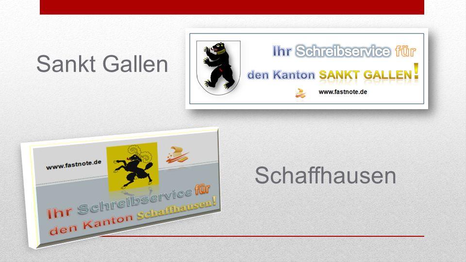 Sankt Gallen Schaffhausen