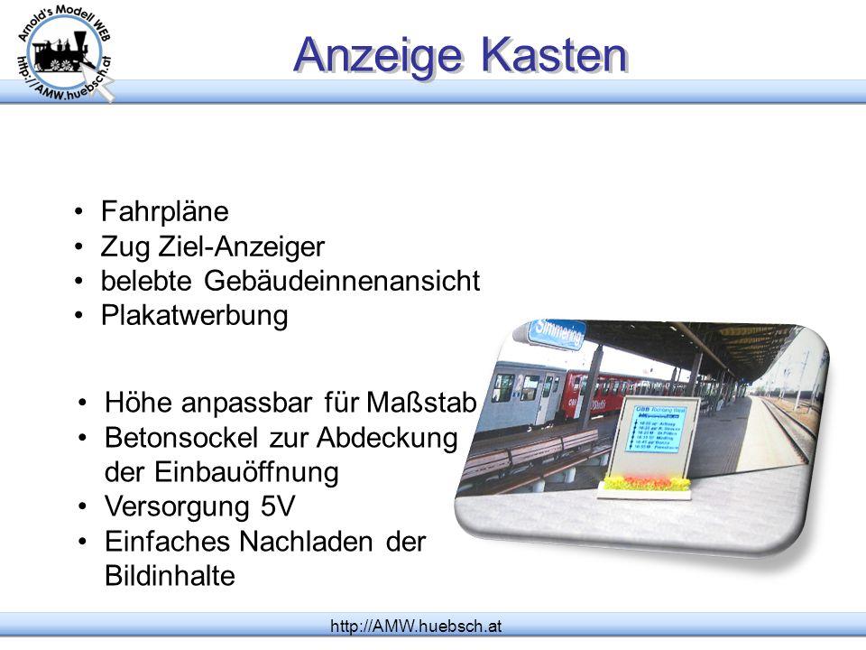 Anzeige Kasten http://AMW.huebsch.at Fahrpläne Zug Ziel-Anzeiger belebte Gebäudeinnenansicht Plakatwerbung Höhe anpassbar für Maßstab Betonsockel zur