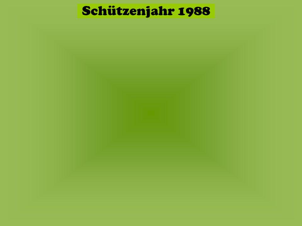 Schützenjahr 1987