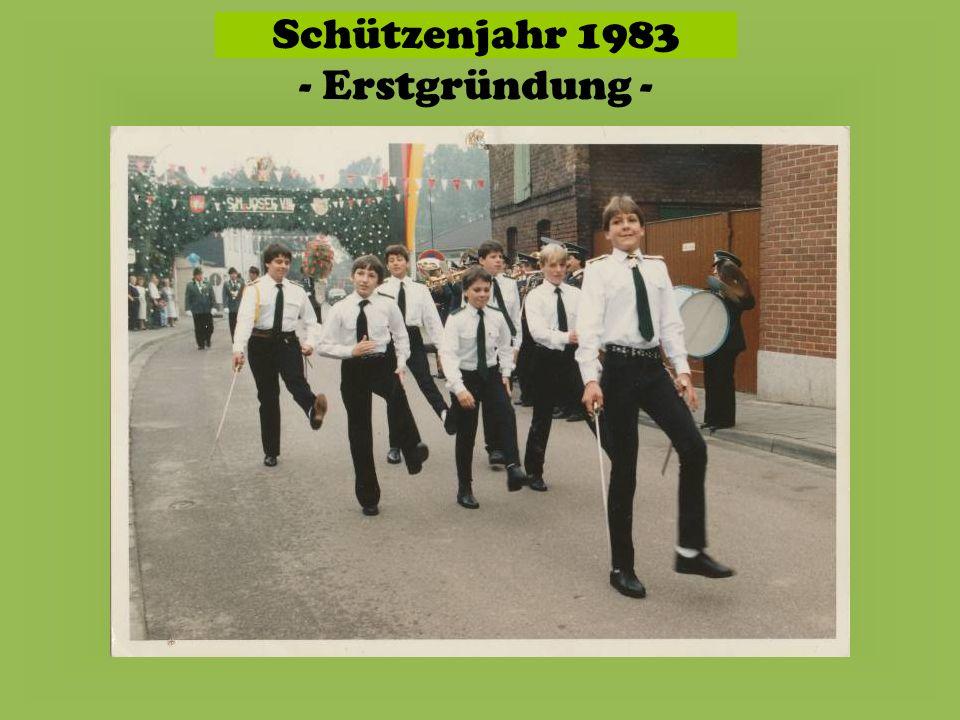 Schützenjahr 1983 - Erstgründung -