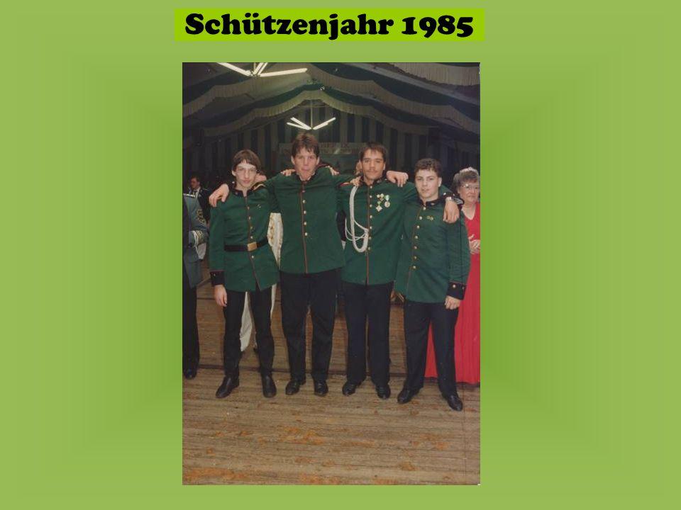 Schützenjahr 1985