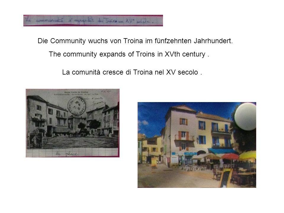 Die Community wuchs von Troina im fünfzehnten Jahrhundert.