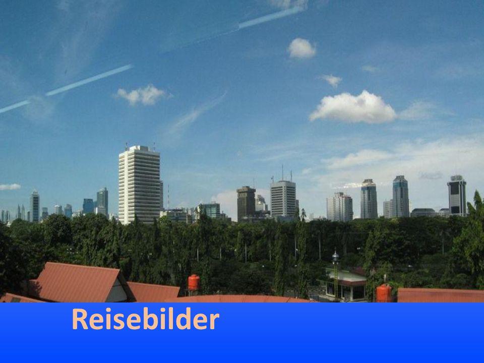 Jakarta liegt in heißfeuchtem Klima …