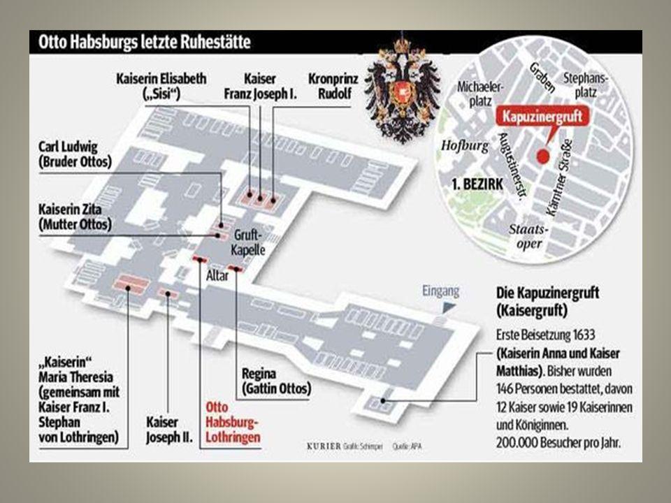 Viele Bünde, Orden und Vereine mit Wurzeln in der Monarchie geben Otto Habsburg die letzte Ehre.