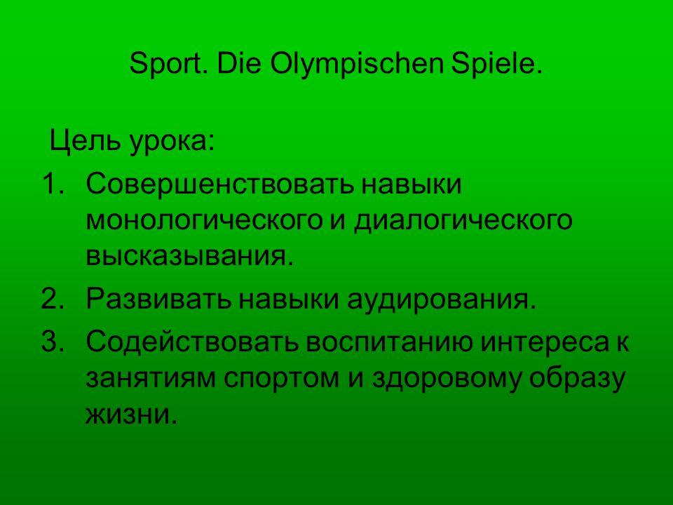 Sprecht nach.Frühling, Sommer, Herbst und Winter – Sport ist gut für alle Kinder.