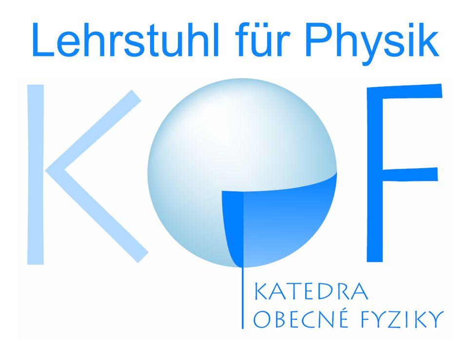 Lehrstuhl für Physik