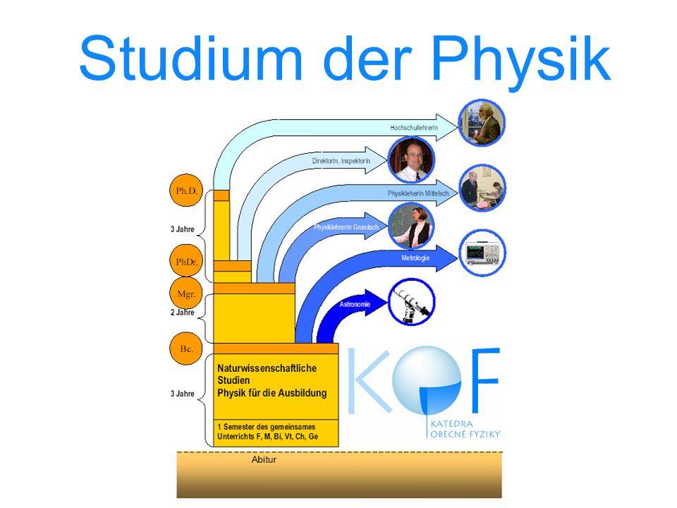 Studium der Physik