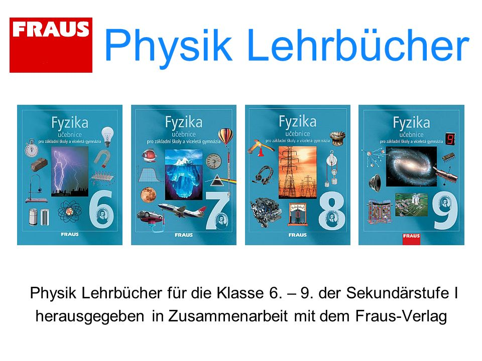 Physik Lehrbücher Physik Lehrbücher für die Klasse 6.