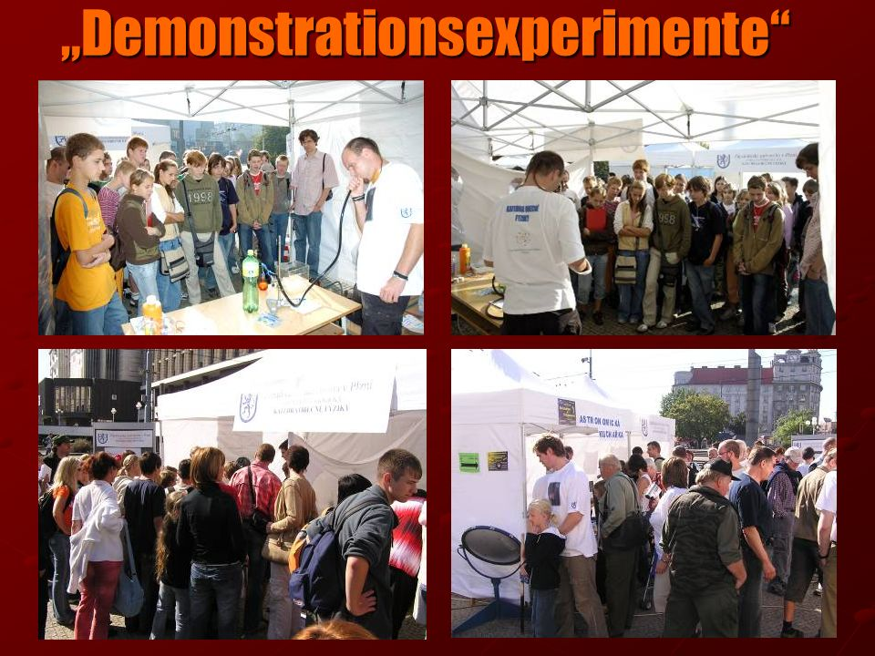 Demonstrationsexperimente Demonstrationsexperimente