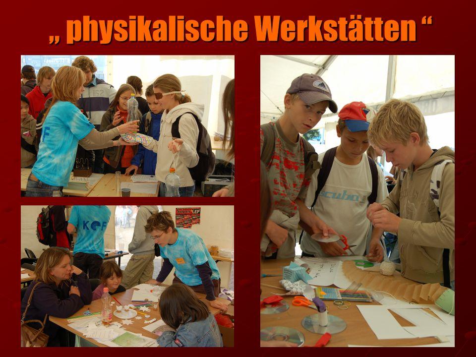 physikalische Werkstätten physikalische Werkstätten