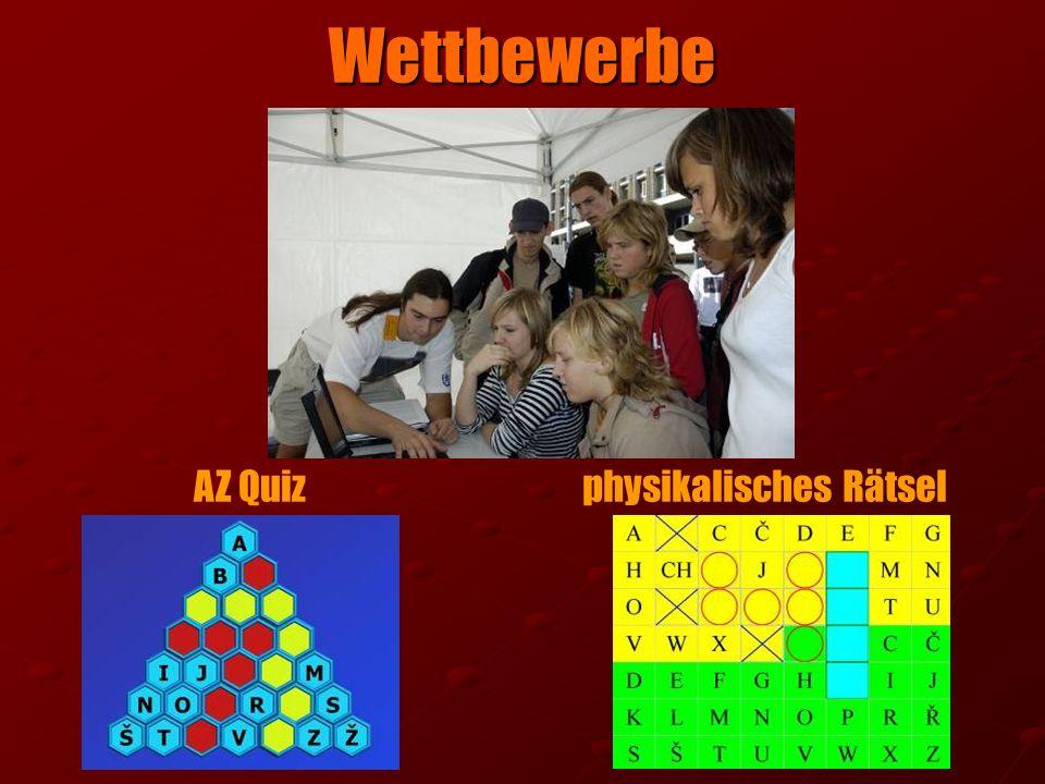 Wettbewerbe AZ Quizphysikalisches Rätsel