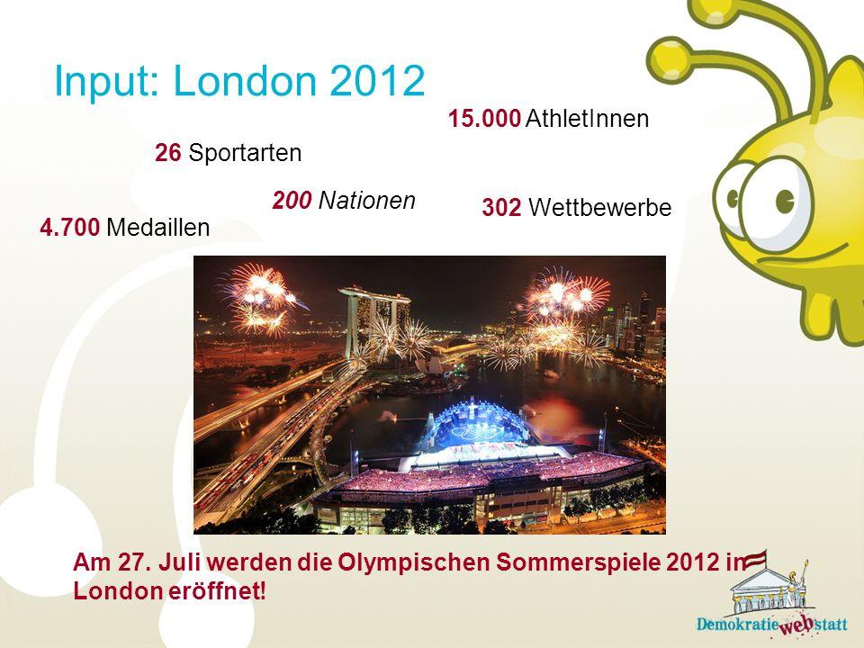 Was ist olympisch.Bei den 1. Olympischen Spielen in der Antike gab es nur den Stadionlauf.