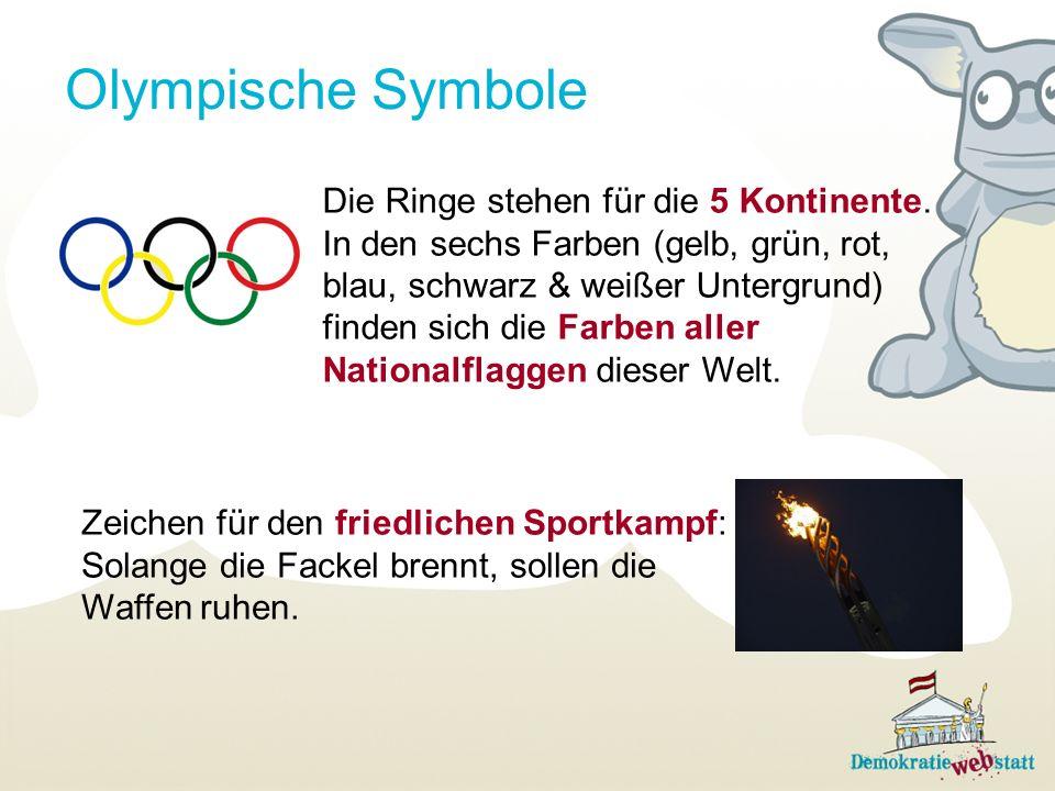 Olympisch denken!