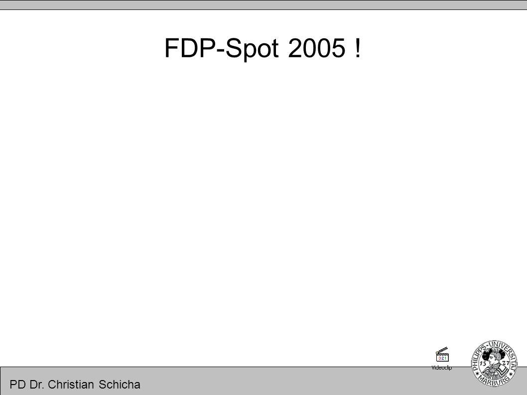 PD Dr. Christian Schicha FDP-Spot 2005 !