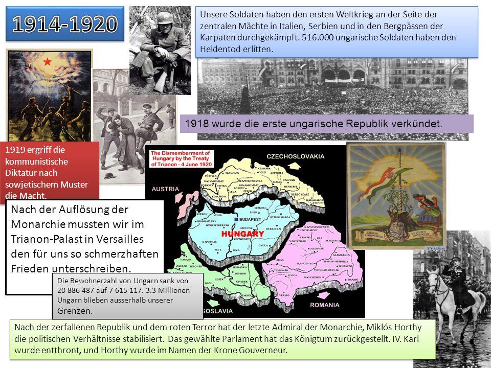 Unsere Soldaten haben den ersten Weltkrieg an der Seite der zentralen Mächte in Italien, Serbien und in den Bergpässen der Karpaten durchgekämpft. 516
