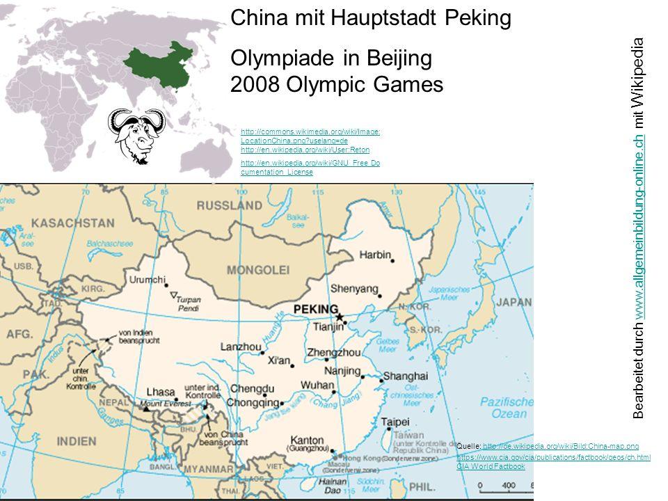 http://de.wikipedia.org/wiki/Bild:Bev%C3%B6lkerungsdichte_ Chinesischer_Provinzen.png http://de.wikipedia.org/wiki/GNU- Lizenz_f%C3%BCr_freie_Dokumentation
