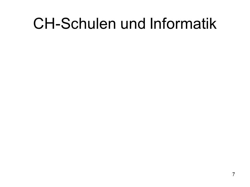 CH-Schulen und Informatik 7
