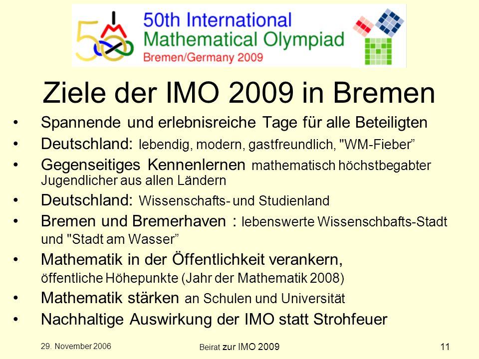 Beirat zur IMO 200911 29.
