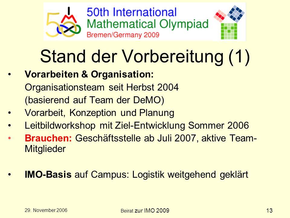 Beirat zur IMO 200913 29.