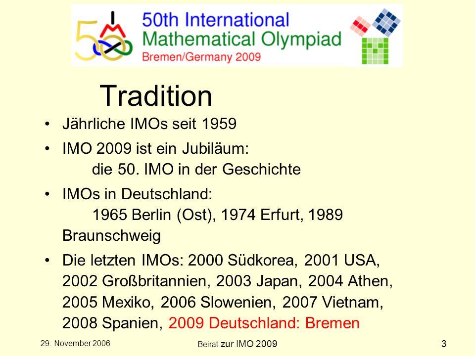 Beirat zur IMO 20094 29.