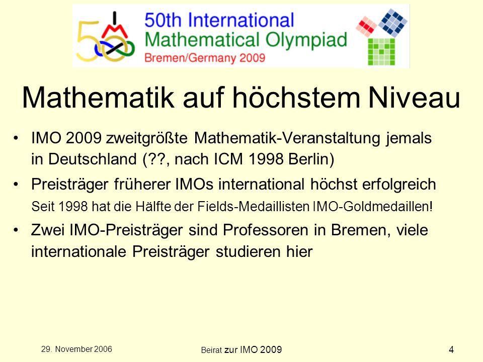 Beirat zur IMO 20095 29.