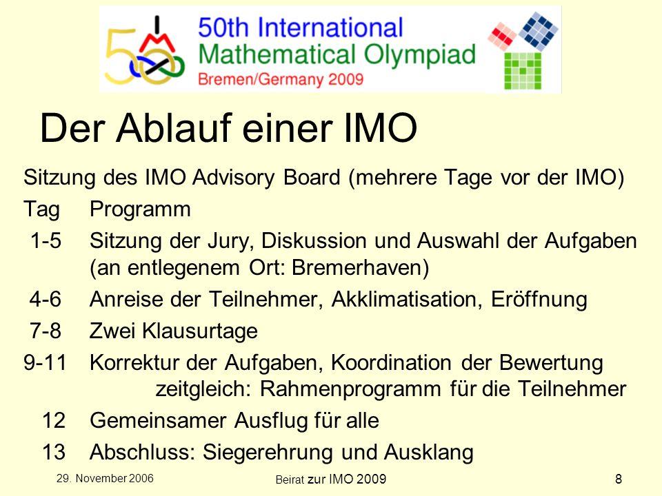 Beirat zur IMO 20098 29.