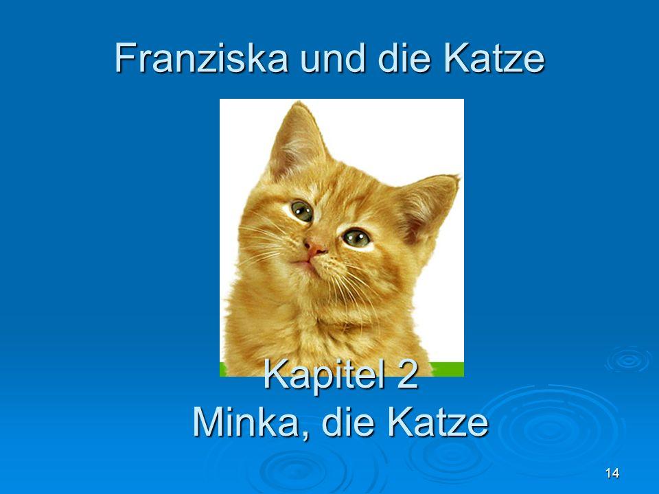 14 Franziska und die Katze Kapitel 2 Minka, die Katze