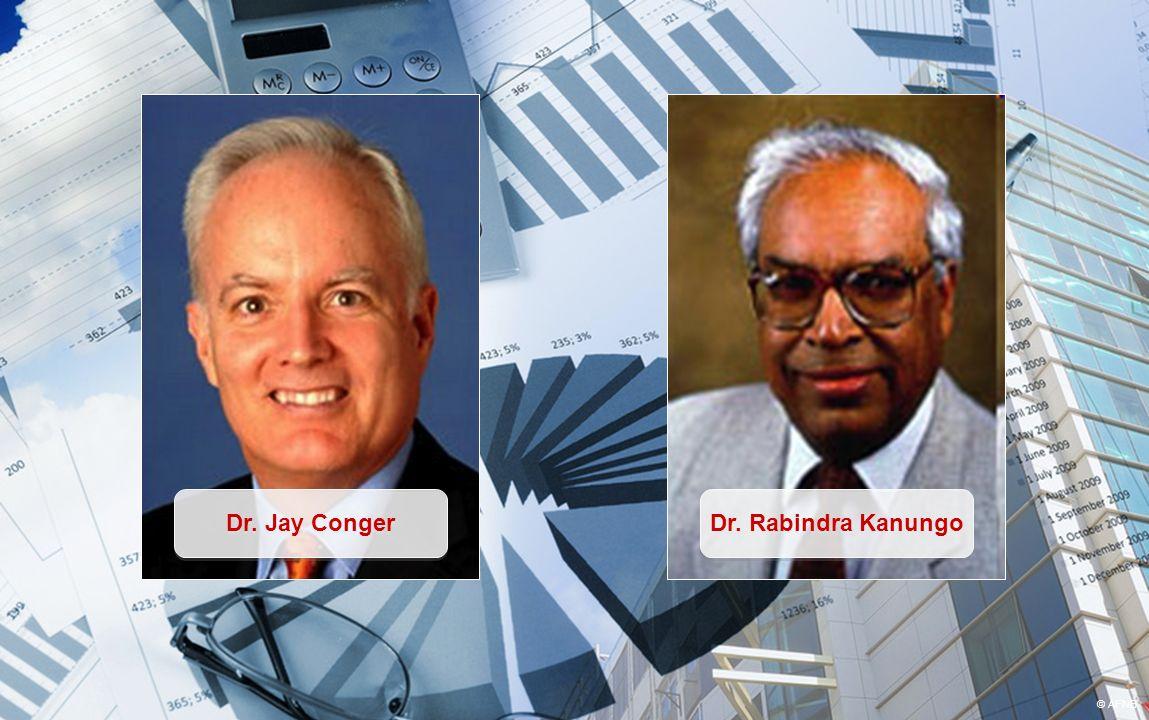 Dr. Jay Conger Dr. Rabindra Kanungo © AFNB