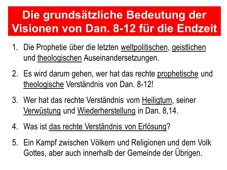 Seite 1 PP_M50.ppt Heiligtum – Folien Teil 1www.hopeandmore.at Die Vision von der Verwüstung und Wiederherstellung des Heiligtums in Daniel 8