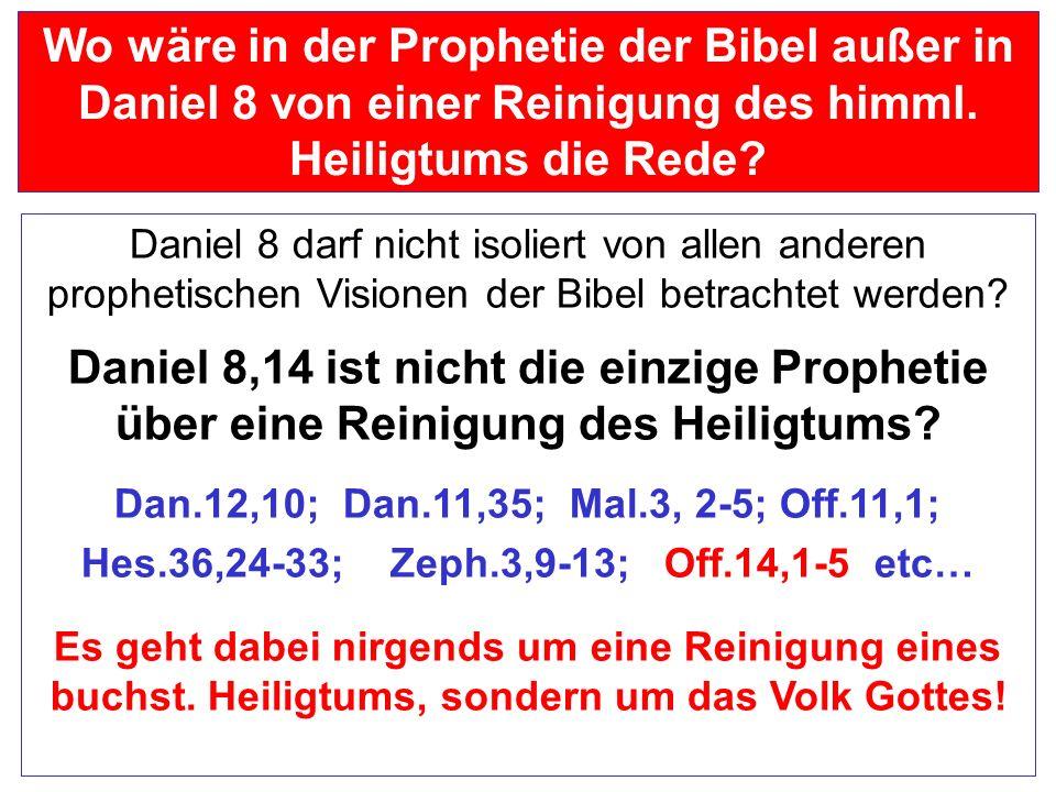 Seite 46 PP_M50.ppt Heiligtum – Folien Teil 1www.hopeandmore.at Abfall bedeutet immer: ein Verwüsten und Zertreten des Heiligtums ein Verwüstendes Grä