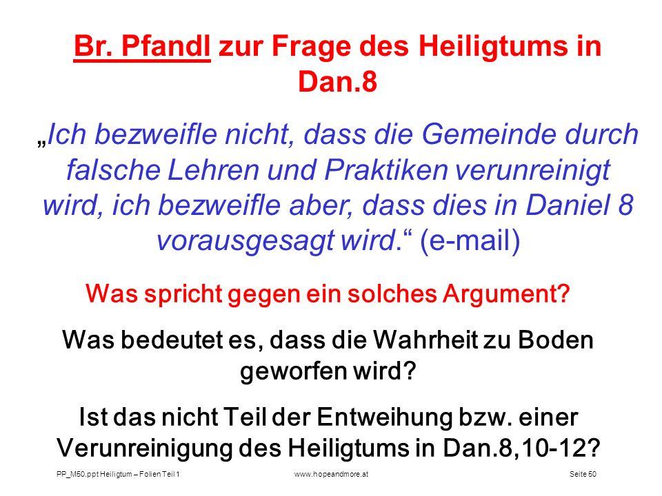 Seite 49 PP_M50.ppt Heiligtum – Folien Teil 1www.hopeandmore.at