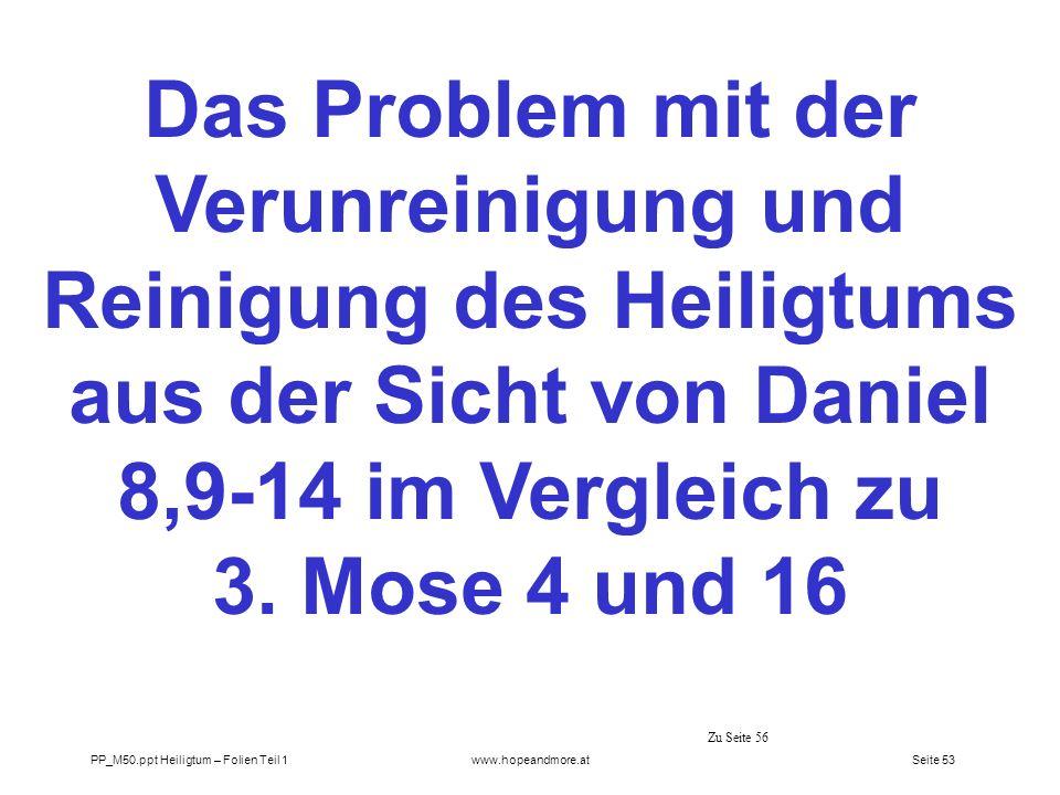 Seite 52 PP_M50.ppt Heiligtum – Folien Teil 1www.hopeandmore.at