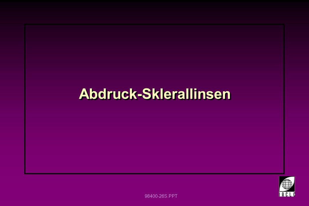 98400-26S.PPT Abdruck-Sklerallinsen