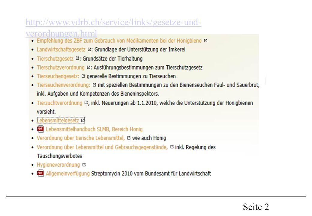 Seite 2 http://www.vdrb.ch/service/links/gesetze-und- verordnungen.html