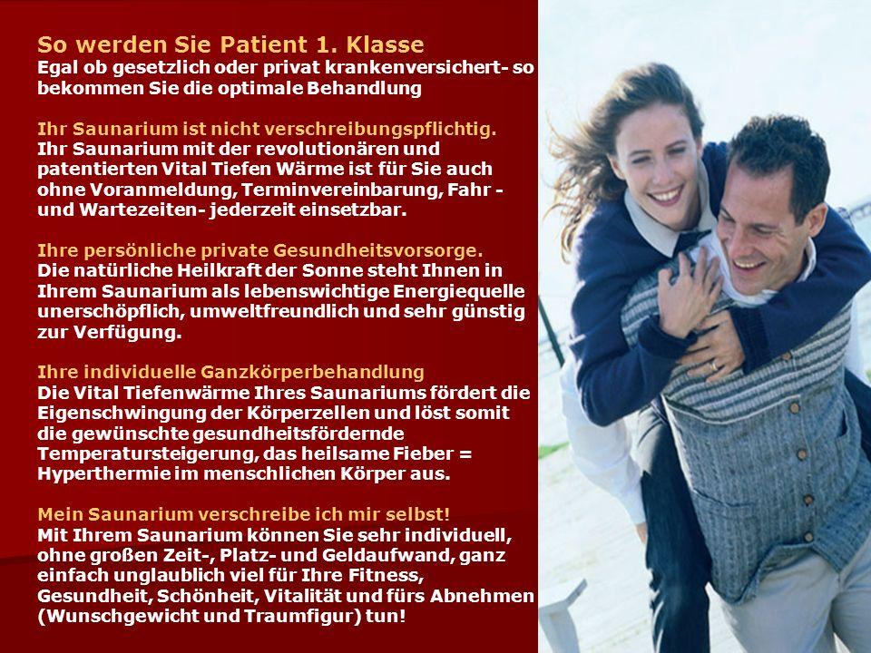 So werden Sie Patient 1.