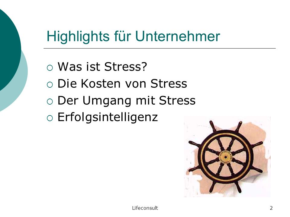 Lifeconsult3 Was ist Stress?