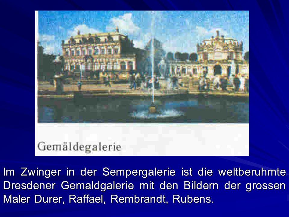 Weimar ist in der ganzen Welt bekannt.