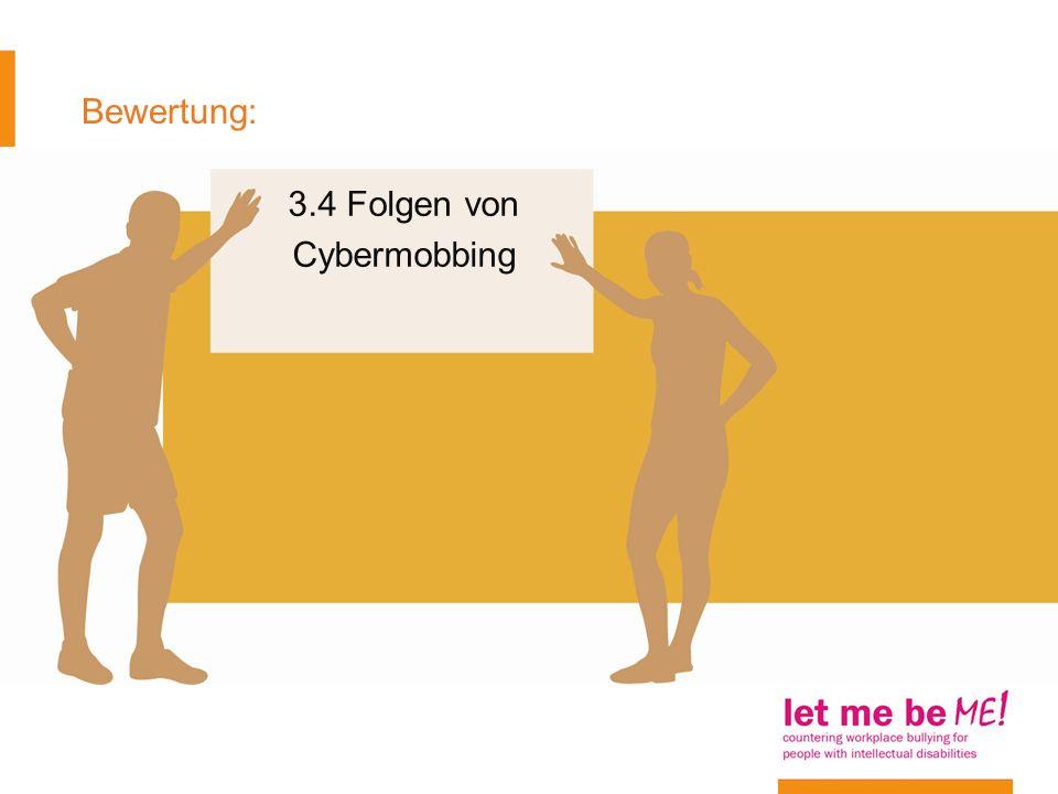 Bewertung: 3.4 Folgen von Cybermobbing